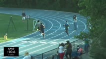 High School Boy's 100m, Heat 2