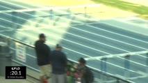High School Boy's 110m Hurdles, Heat 2