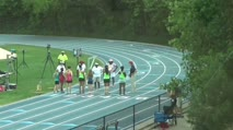 High School Girl's 1600m Race Walk, Final