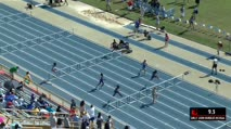 Girl's 100m Hurdles 1A, Heat 1