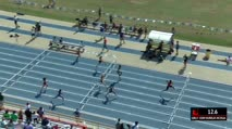 Girl's 100m Hurdles 1A, Heat 2
