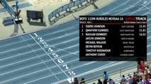 Boy's 110m Hurdles 1A, Heat 1