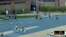 Boy's 300m Hurdles 1A, Heat 2