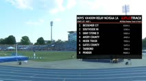 Boy's 4x400m Relay 1A, Heat 1