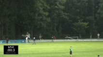 High School Boy's 300m Hurdles, Heat 1