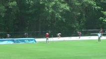 High School Boy's 300m Hurdles, Final