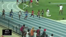 High School Girl's 100m, Final