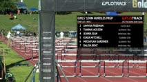 Girl's 100m Hurdles Prep, Heat 2