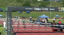 Girl's 100m Hurdles Prep, Heat 4