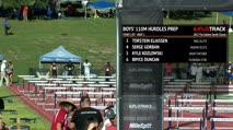 Boy's 110m Hurdles Prep, Heat 1