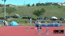Girl's 300m Hurdles Prep, Round 1 Heat 4