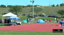 Boy's 300m Hurdles Prep, Round 1 Heat 1