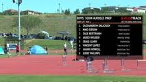 Boy's 300m Hurdles Prep, Heat 2