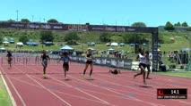 Girl's 100m Hurdles Classic, Heat 2