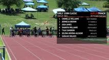 Girl's 100m Classic, Heat 3