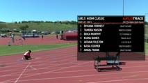 Girl's 400m Classic, Heat 2