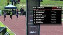 Boy's 200m Classic, Heat 3