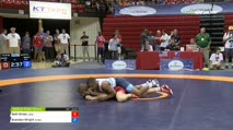 61 Quarter - Seth Gross, Jackrabbit Wrestling Club vs Brandon Wright, New York Athletic Club
