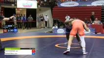 86 Cons SF - Kyle Crutchmer, Cowboy Wrestling Club vs Richard Perry, New York Athletic Club