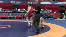 74 2nd Place - Alex Dieringer, TMWC vs Isaiah Martinez, TMWC