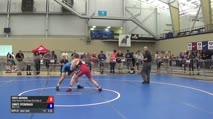 75 Round of 16 - Fritz Schierl, Titan Mercury Wrestling Club/Ohio Regional Training Center vs Corey Fitzgerald, NMU-OTS