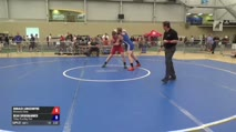 130 Round of 16 - Donald Longendyke, Minnesota Storm vs Dean Broghammer, Viking Wrestling Club