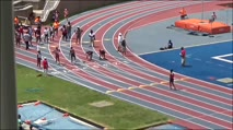 Girl's 100m 15-16 Years Old, Prelims 3