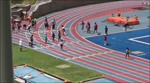 Girl's 100m 17-18 Years Old, Prelims 3