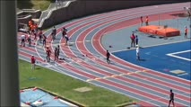 Boy's 100m 17-18 Years Old, Prelims 2