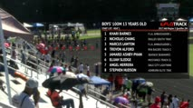 Ms Girl's 100m, Round 1 Heat 2 - Age age 13