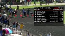 Girl's 100m, Round 1 Heat 2 - Age 15-16