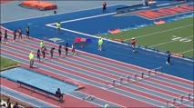 Girl's 100m Hurdles 12 Years Old, Prelims 1