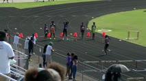 Boy's 80m Hurdles, Round 1 Heat 1