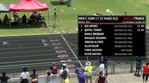 Boy's 200m, Round 2 Heat 1 - Age 17-18