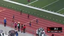 Girl's 200m, Round 1 Heat 3