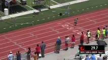 Boy's 200m, Round 1 Heat 4