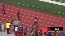 Ms Girl's 200m, Round 1 Heat 2 - Age age 11