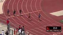 Ms Girl's 200m, Round 1 Heat 2 - Age age 12
