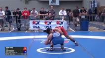 57 Semi-Finals - David Terao, DCAC vs Gary Harding, OKST/Cowboy Wrestling Club