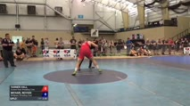 125 Consi-Semis - Tanner Hall, Sunkist Kids Wrestling Club vs Michael Boykin, Wolfpack Wrestling Club