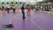 46 7th Place - Richard Figueroa Ll, Team Selma vs Cooper Flynn, Holland Trained