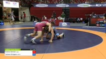 96 Cons 8-2 - Andrew Davison, Chesterton Wrestling Club vs Jackson Striggow, Michigan RTC