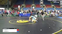 152 Round of 128 - Carson Licastri, Connecticut vs Jax Leonard, Ohio