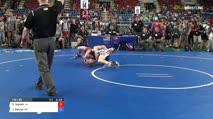 132 Round of 128 - Camdyn Ingram, Louisiana vs Jackson Eklund, South Dakota