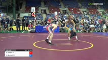 120 Round of 128 - Sam Kallem, Iowa vs Michael Burnett, Ohio