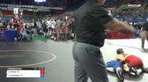 126 Round of 128 - Charlie Pickell, Minnesota vs Riley Zachmeier, North Dakota
