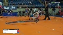138 Round of 128 - Cade DeVos, Iowa vs Gabriel Riley, Montana