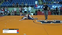 132 Round of 32 - Carson Manville, Minnesota vs Isaac Riddle, Wisconsin