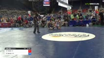 138 Round of 128 - Kyle Yazzie, Arizona vs Dominic Damon, Washington