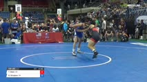 132 Qtrs - Tyler Deen, California vs Billy Simpson, Oklahoma